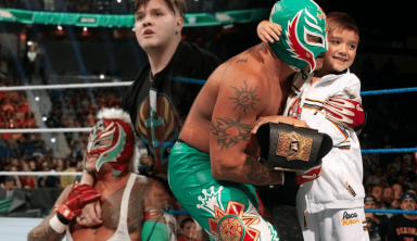 WWE May Want Son Of Rey Mysterio To Wrestle