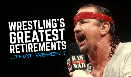 Wrestling's Greatest Retirements… That Weren't