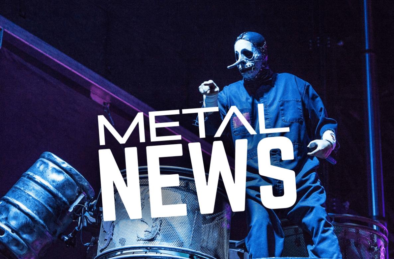 Former Slipknot Percussionist Chris Fehn Returns To Music (w/Video)