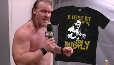 New Chris Jericho T-Shirt Breaks Pro Wrestling Tees Record