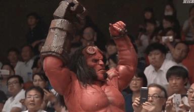 Hellboy Triumphs In All Japan Pro Wrestling Debut (w/Video)