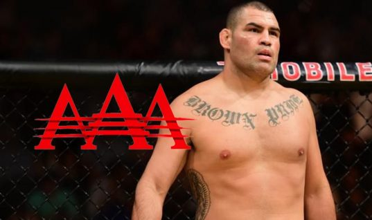 UFC Star Cain Velasquez Shows Off His Lucha Moves At AAA Show In New York (w/Videos)
