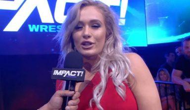 Former IMPACT Wrestling Knockout Scarlett Bordeaux Has WWE Tryout