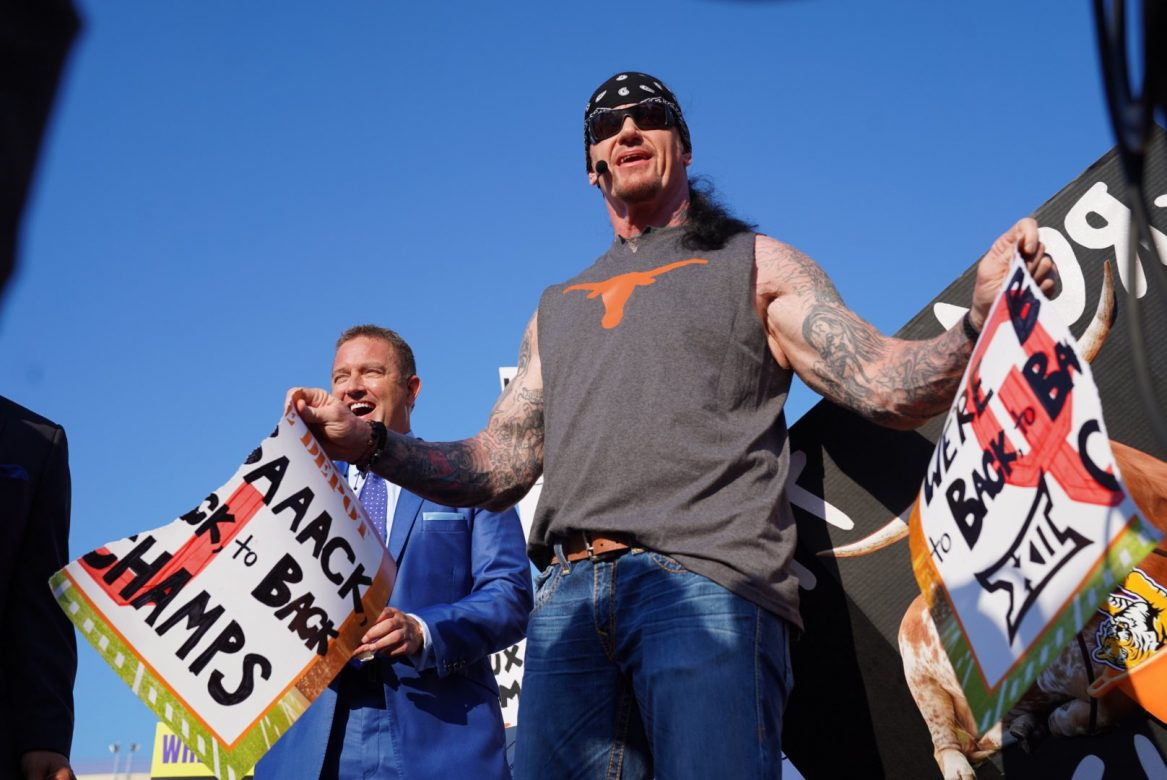 'American Badass' Undertaker Was On ESPN's College GameDay And Had A Pyro Entrance (w/Video)
