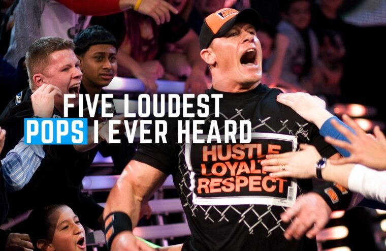 Five Loudest Pops I Ever Heard