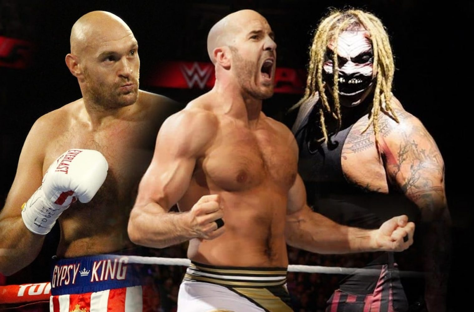 Cesaro Punched By Tyson Fury Then Attacked By The Fiend After Raw Goes Off Air (w/Videos)