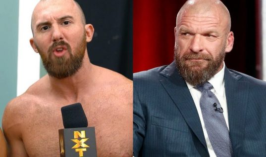 Oney Lorcan Is Unhappy With Triple H