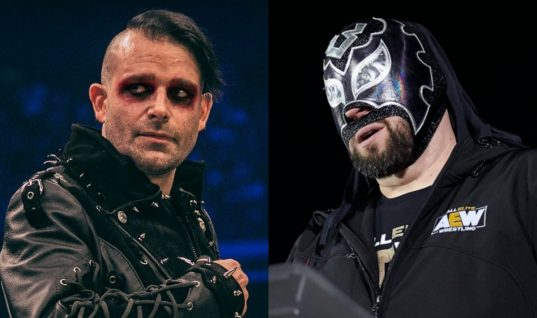 Drunken Jimmy Havoc Choked By Excalibur In Front Of Tony Khan