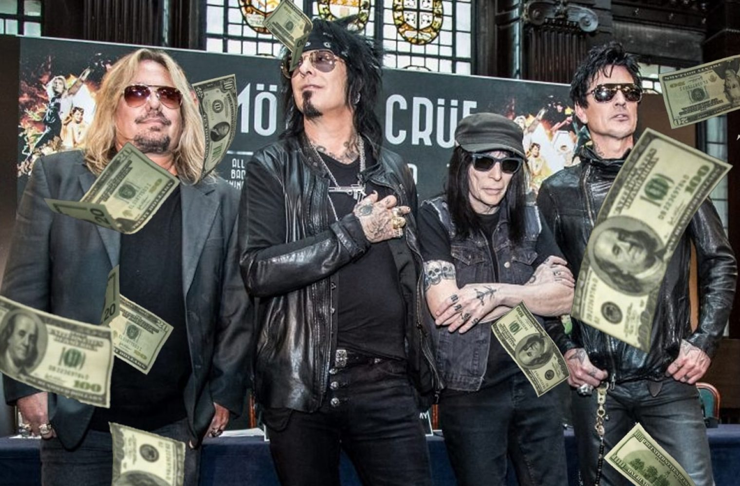Promoters Are Being Asked For Huge Money To Book Mötley Crüe On Their Reunion Tour