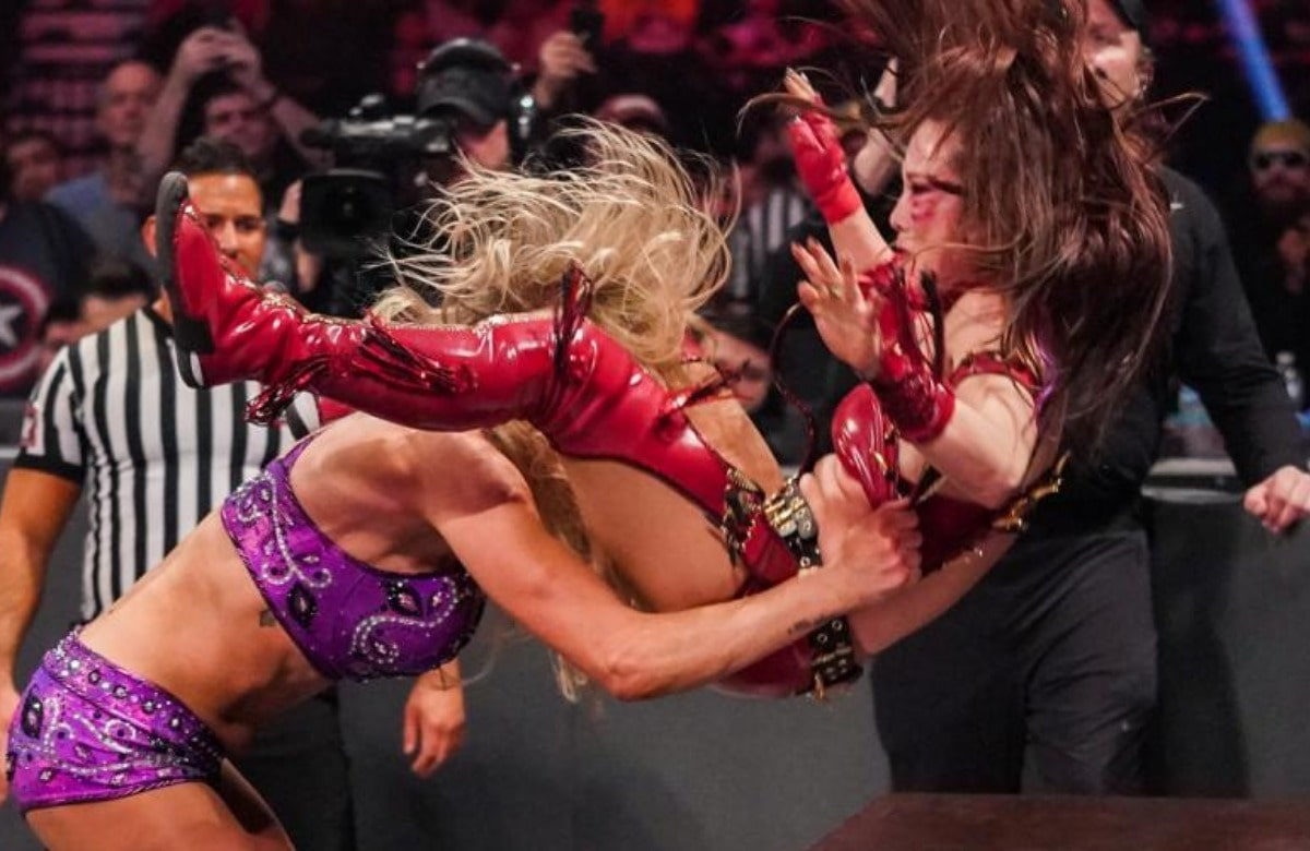 Charlotte Flair Comments On Her TLC Match Where Kairi Sane Suffered A Concussion