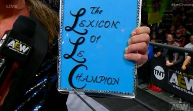"""Chris Jericho Introduces """"The Lexicon Of Le Champion"""" On AEW Dynamite (w/Video)"""