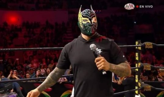 Jorge Arias And AAA Could Potentially Be Sued For Using The Sin Cara Gimmick In Mexico