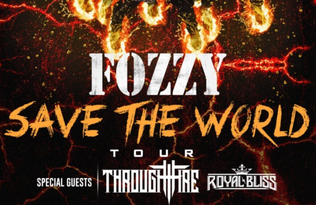 Fozzy Announce 'Save The World' Tour For 2020