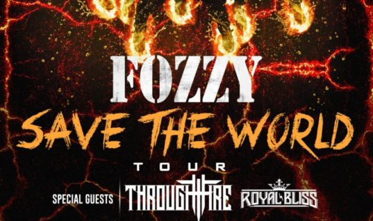 Fozzy Announce Rescheduled Tour Dates And Upcoming Album Name