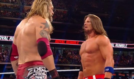 AJ Styles Speaks About His Royal Rumble Injury And Says Edge Is Not Responsible