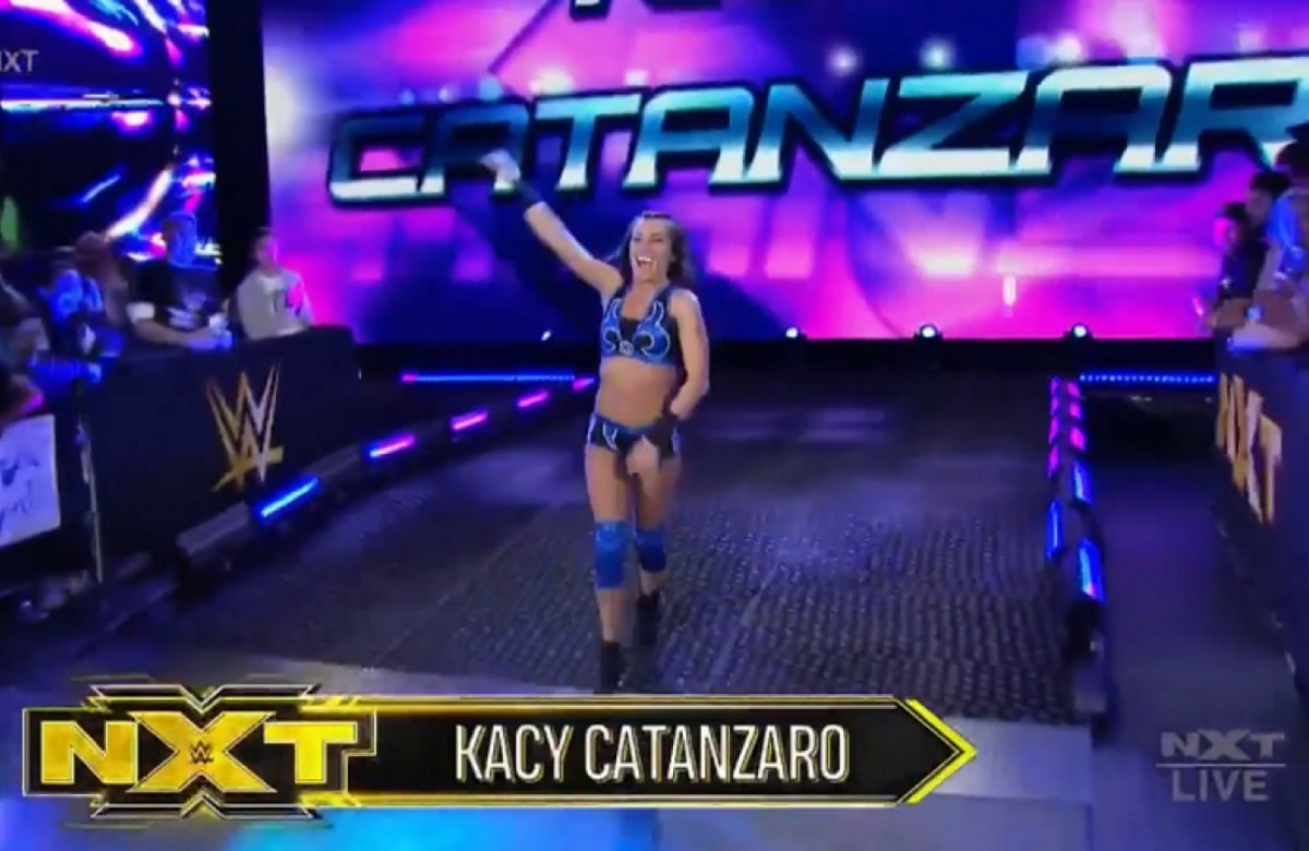 Former American Ninja Warrior Kacy Catanzaro Was Talked Out Of Quitting WWE