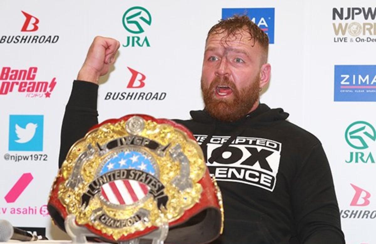 Jon Moxley Regains IWGP United States Championship