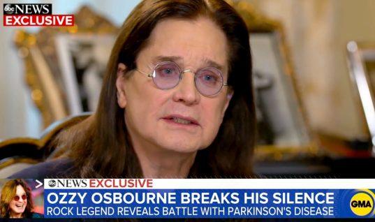 Ozzy Osbourne Reveals He Is Battling Parkinson's Disease On 'Good Morning America'