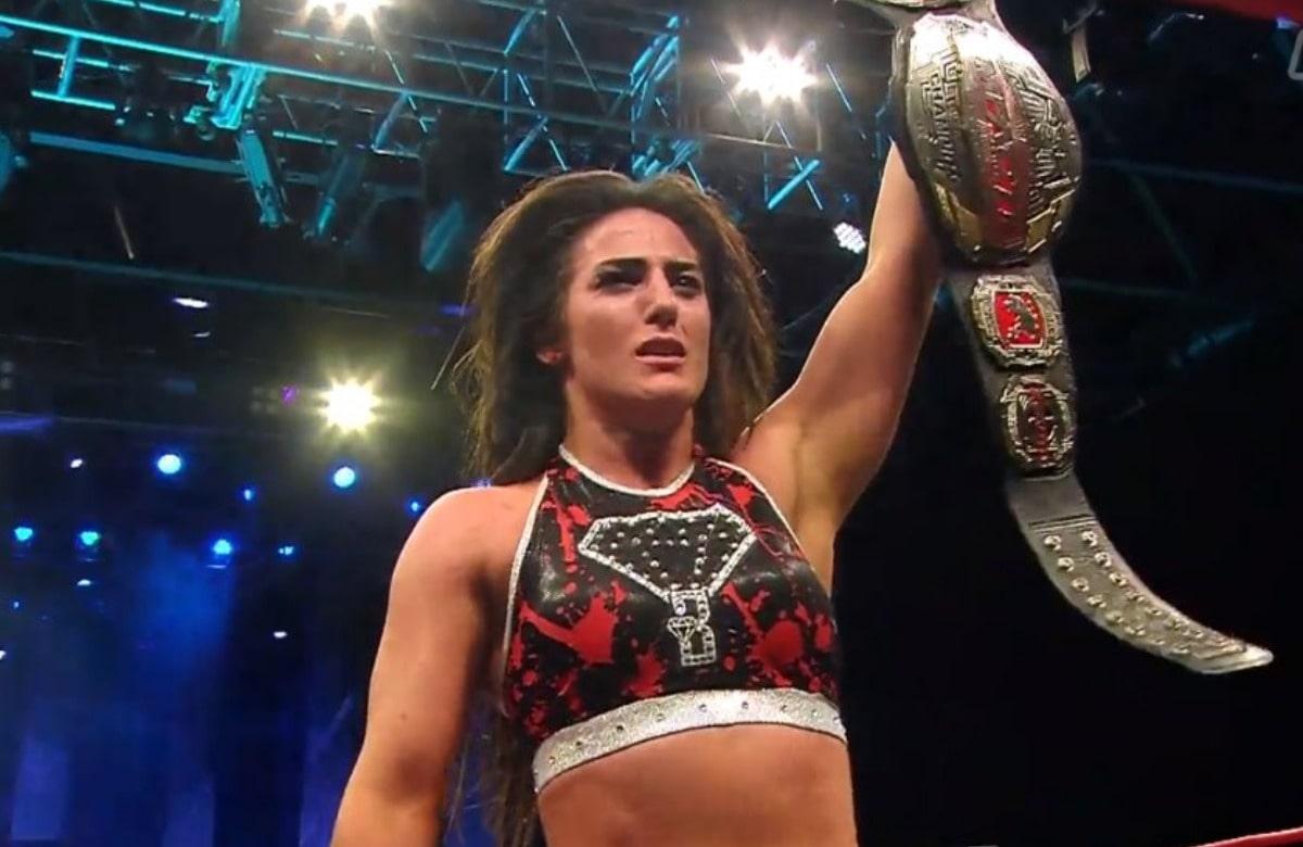 Tessa Blanchard Wins Impact Wrestling's World Championship (w/Video)