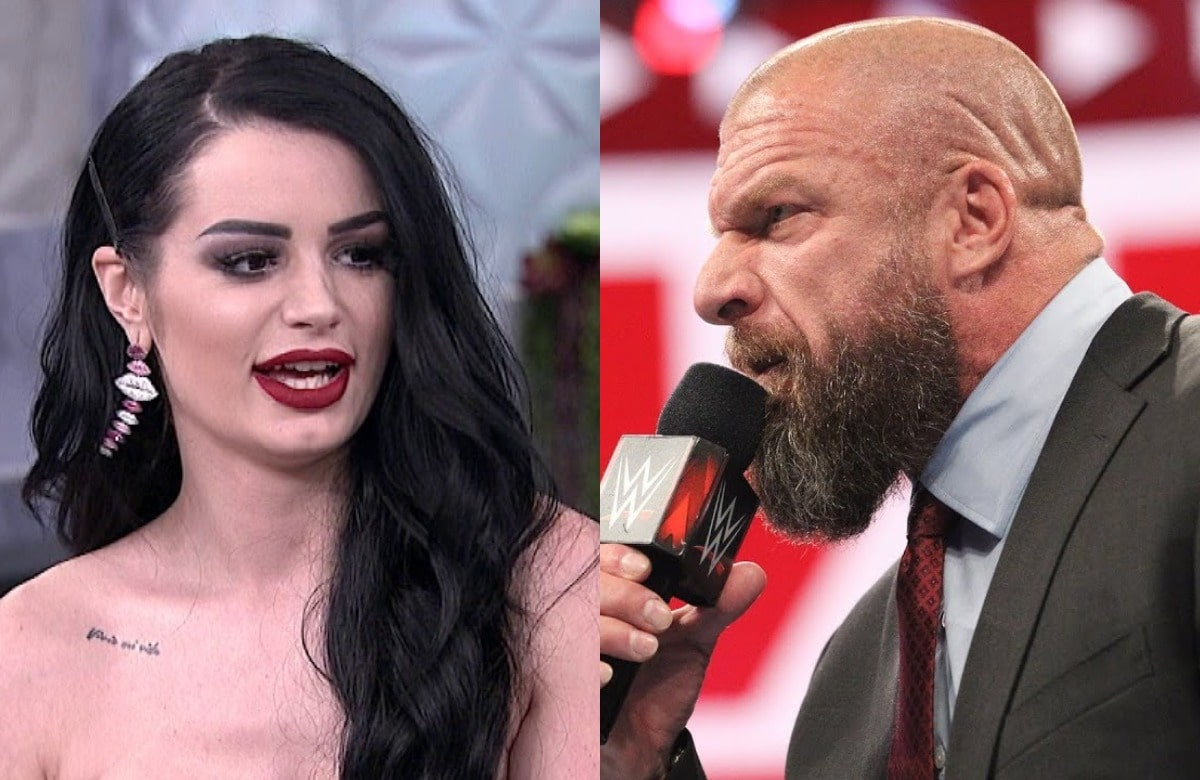 Paige Upset By Ill-Judged Triple H Joke