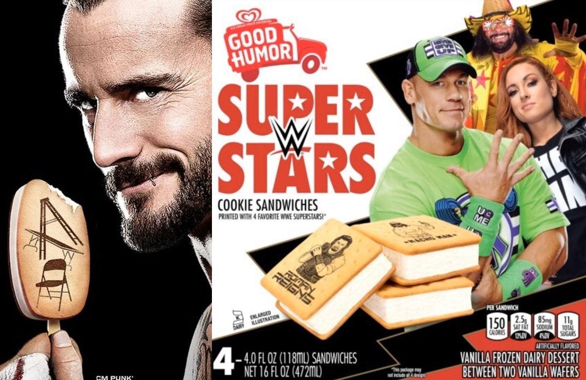 Good Humor Are Releasing Alternative To The Original WWE Ice Cream Bars