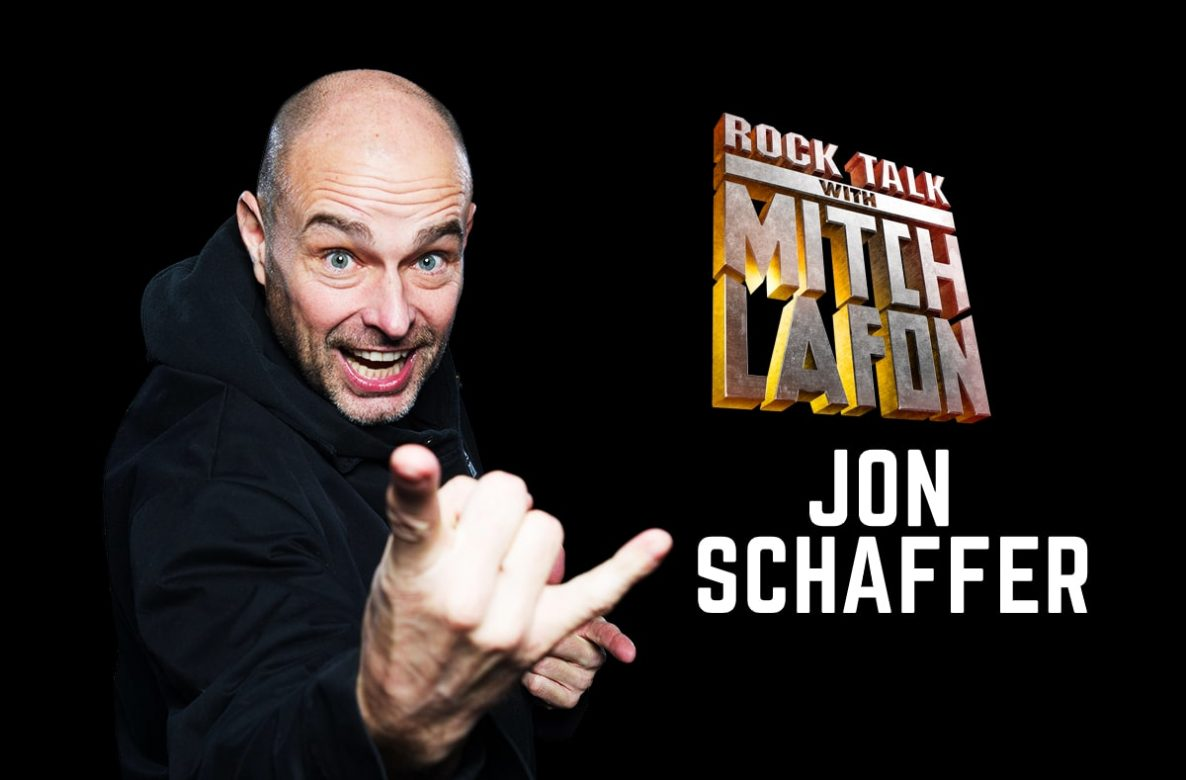 Rock Talk With Mitch Lafon: Demons & Wizards Jon Schaffer Interview