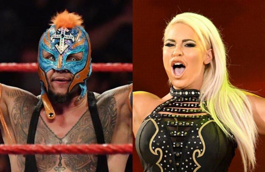 Rey Mysterio And Dana Brooke In Self-Quarantine And Will Miss WrestleMania