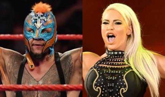 Rey Mysterio And Dana Brooke In Self-Quarantine And Will Miss WrestleMania