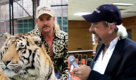 Joe Exotic Was An Indie Wrestling Commentator, And Held Shows At His Exotic Animal Park