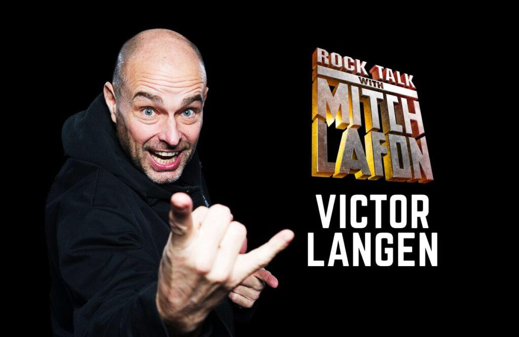 Rock Talk With Mitch Lafon: Kick Axe Bassist Victor Langen Interview