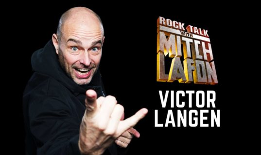 Rock Talk With Mitch Lafon: Kick Axe Bassist Victor Langen Interview