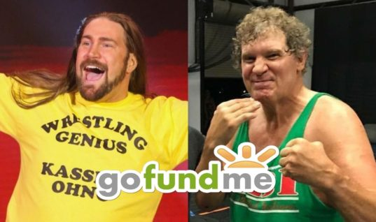 Kassius Ohno Launches GoFundMe For Tracy Smothers