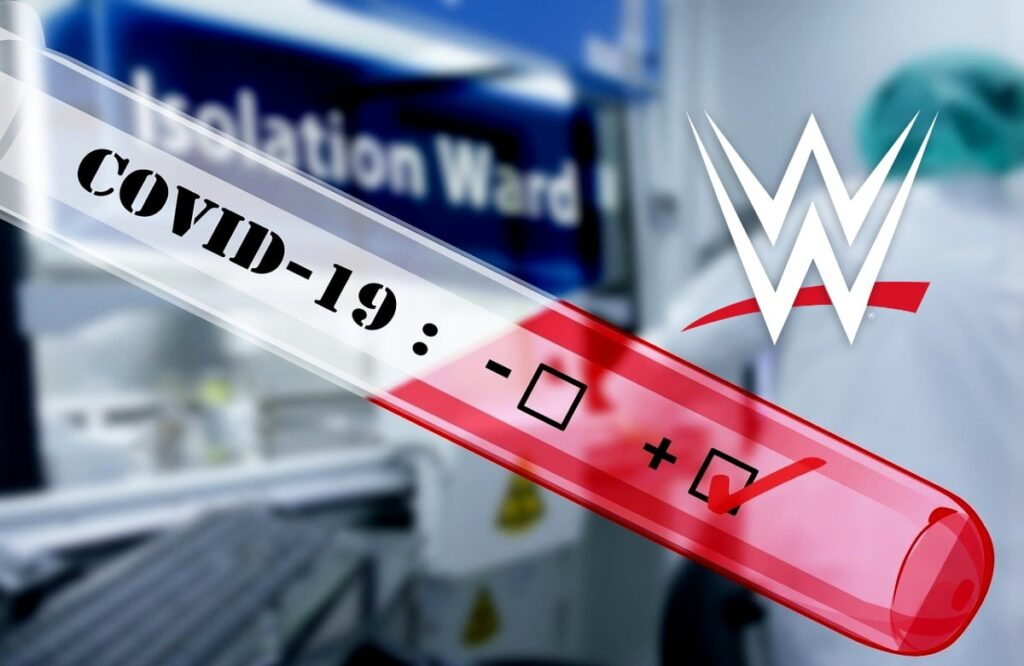 WWE Taping Schedule Changed After Potentially Dozens Of Positive COVID-19 Tests
