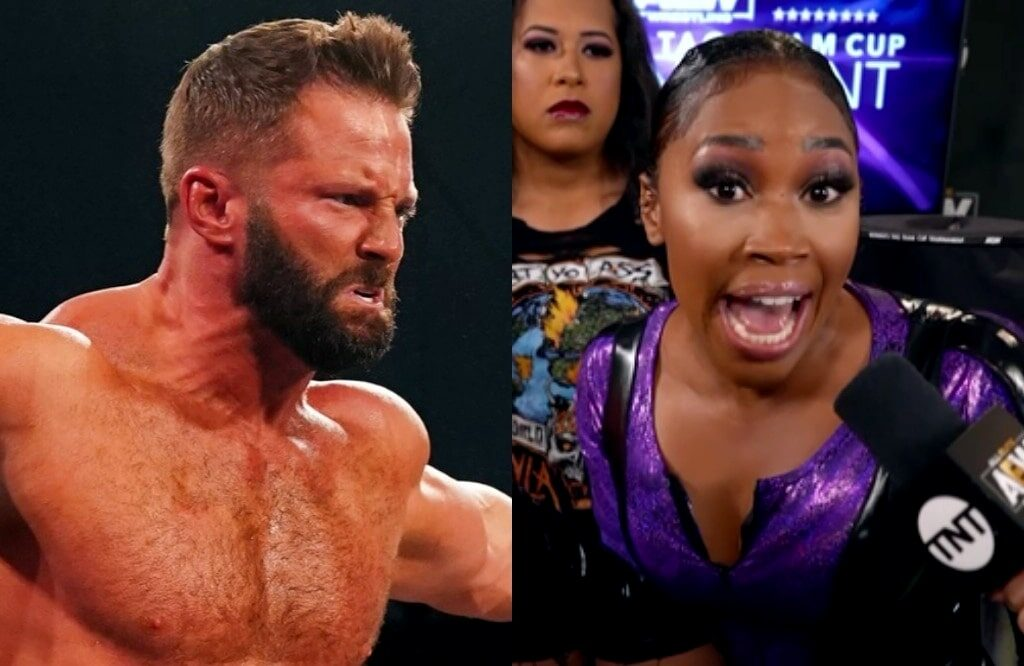 Former WWE Wrestlers Matt Cardona And Ariane Andrew Appear On AEW Dynamite (w/Videos)
