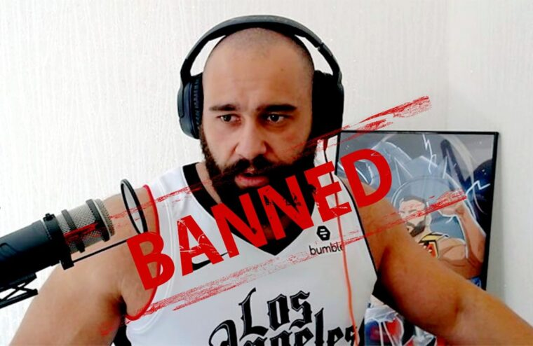 Rusev's Live Gaming Channel Banned By Twitch