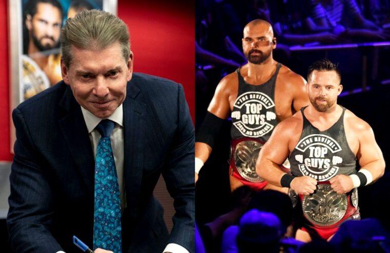 Dax Harwood Mocks Vince McMahon Following PWI Achievement