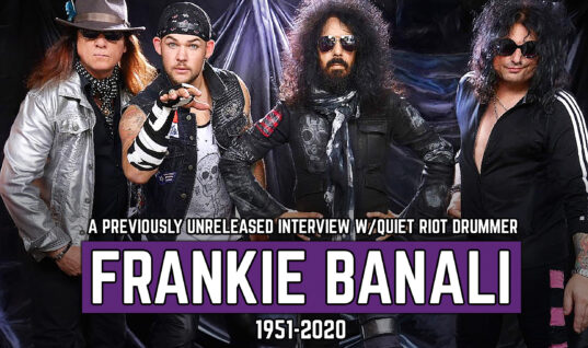 A Previously Unreleased Interview With Quiet Riot's Frankie Banali (1951-2020)