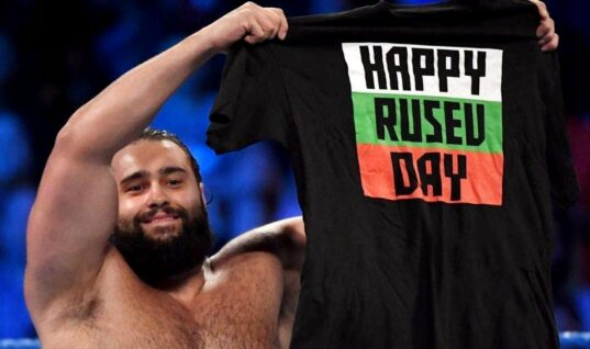 """Rusev Talks About Finding Out WWE Didn't Care About Him Or """"Rusev Day"""""""