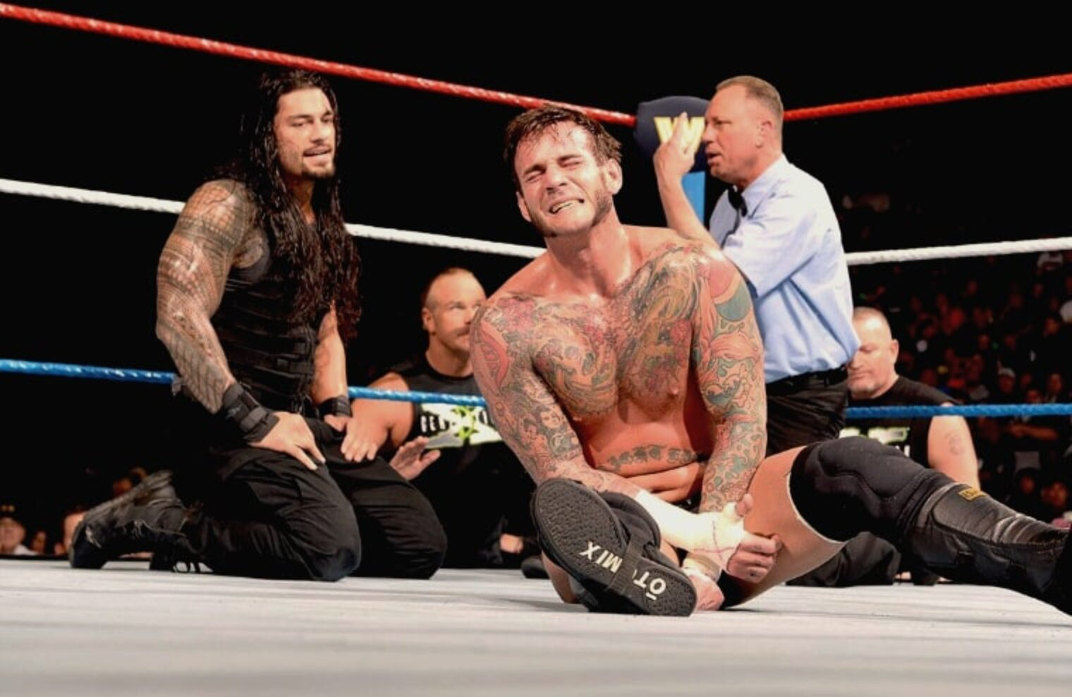 Roman Reigns ya ha estado en un ring con Punk.