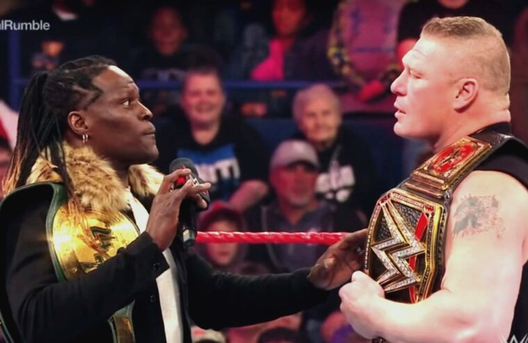 Brock Lesnar Wanted To Work With R-Truth Following Raw Segment