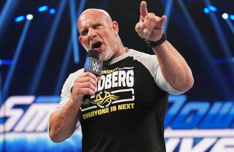 Bill Goldberg Begins Teasing His Next WWE Match