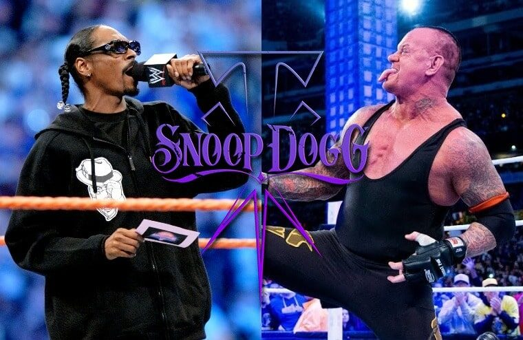 WWE Release The Undertaker And Snoop Dogg Merchandise Collaboration
