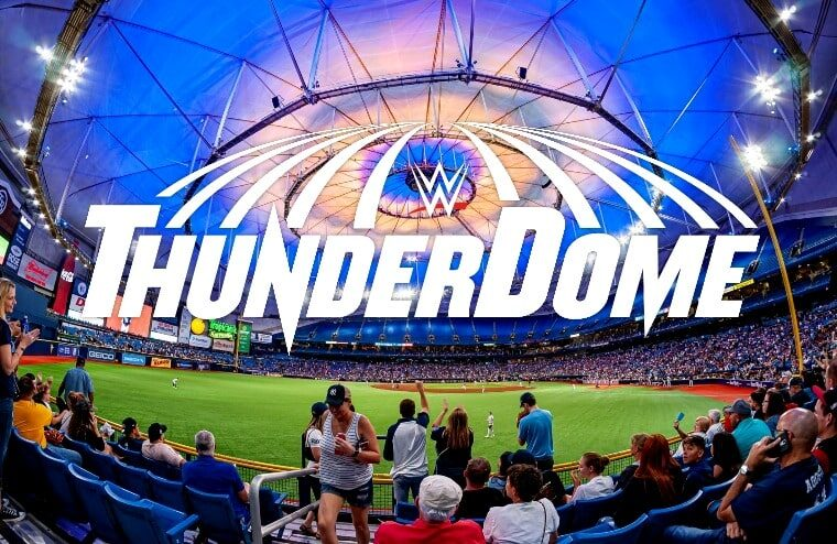 The WWE ThunderDome Is Moving Out Of The Amway Center