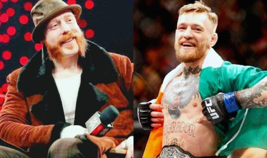 Sheamus Says It's Just a Matter Of Time Before Conor McGregor Wrestles For WWE