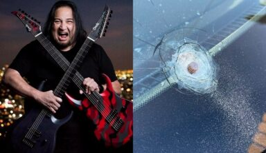 Fear Factory Guitarist Dino Cazares Finds Bullet In His Windshield