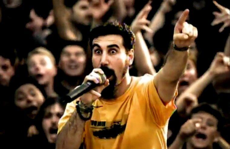 "Serj Tankian & Daron Malakian Comment On Writing The Lyrics For ""Chop Suey!"""