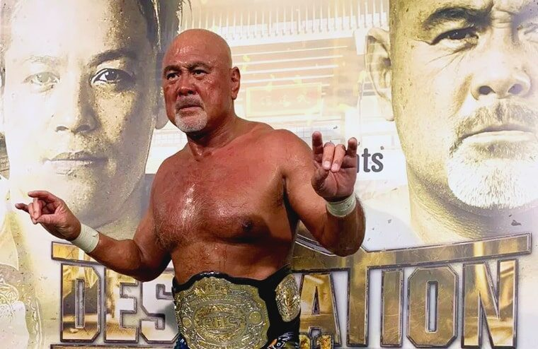 Keiji Mutoh Rolls Back The Years To Become A World Champion Again (w/Video)