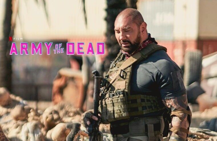 """Teaser Trailer Released For """"Army Of The Dead"""" Starring Batista"""