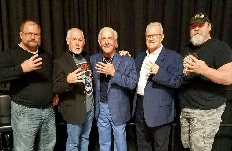 Ric Flair Reveals He No Longer Speaks To His Fellow Horsemen