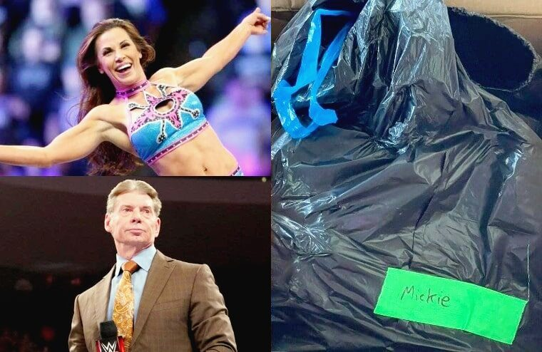 Mickie James Reveals Vince McMahon Phoned Her Following Trash Bag Incident